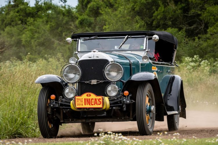 Car 03 Brian Shields(USA) / Colin Shields(USA)1929 - Buick 25X, Rally of the Incas 2016