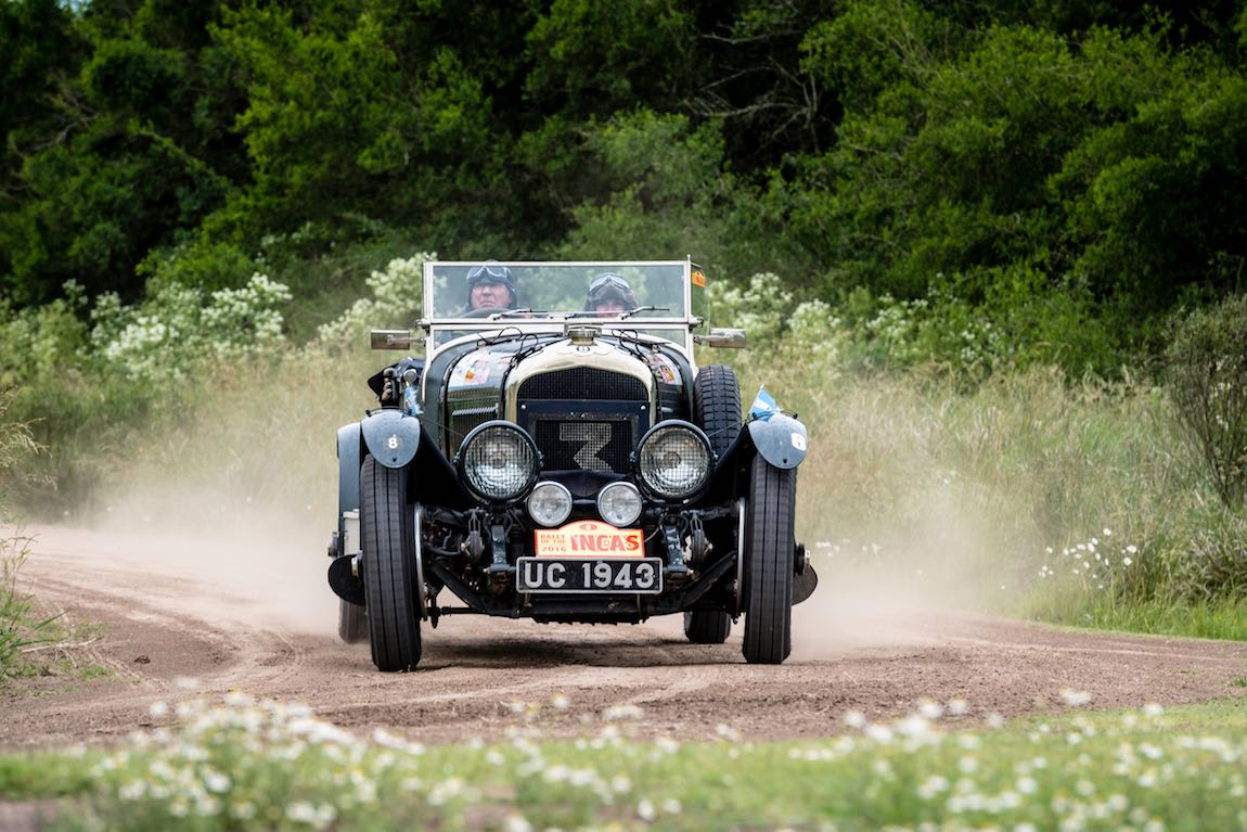 Car 08 Keith Ashworth(GB) / Norah Ashworth(GB)1927 - Bentley 4 1/2 Le Mans, Rally of the Incas 2016