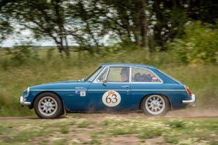Car 63 John Crighton(AUS) / Marian Crighton(AUS)1972 - MGB GT, Rally of the Incas 2016
