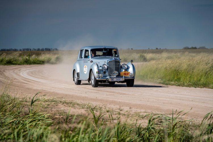 Car 23 Richard Everingham(ZA) / Seonaid Beningfield(ZA)1953 - Bentley R Type, Rally of the Incas 2016