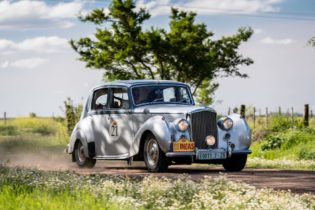 Car 21 Leon Bothma(ZA) / Hester Bothma(ZA)1947 - Bentley MkVI, Rally of the Incas 2016