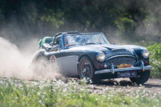 Car 51 Phillip Blunden(AUS) / Lynda Blunden(AUS)1965 - Austin Healey 3000 MkIII, Rally of the Incas 2016