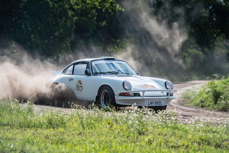 Car 65 Joost Van Cauwenberge(B) / Christine De Landtsheer(B)1973 - Porsche 911, Rally of the Incas 2016