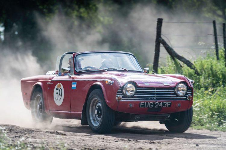 Car 59 David Roberts(GB) / Jo Roberts(GB)1968 - Triumph TR250, Rally of the Incas 2016
