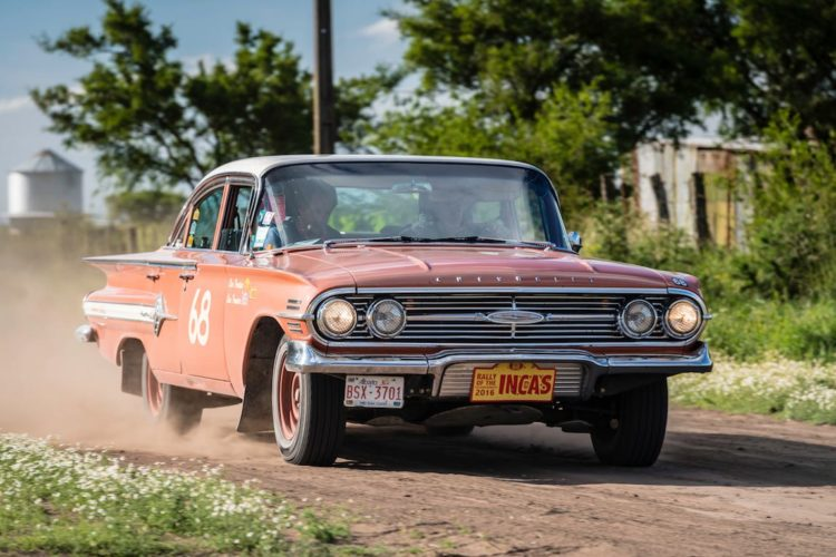 Car 68 Layne Treeter(CAN) / Len Treeter(CAN)1960 - Chevrolet Impala, Rally of the Incas 2016