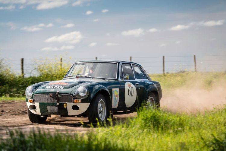 Car 60 Andrew Long(GB) / Gina Long(GB)1968 - MGC GT, Rally of the Incas 2016