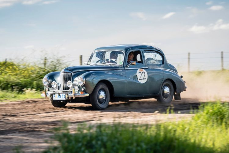 Car 22 Chris Clemons(AUS) / Tim Clemons(AUS)1952 - Sunbeam Talbot 90, Rally of the Incas 2016