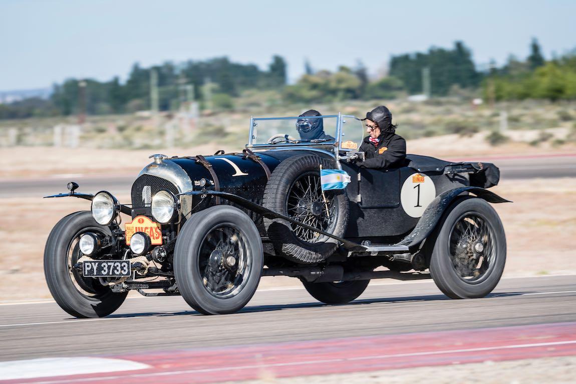 Car 01 Graham Goodwin(GB) / Marina Goodwin(GB)1925 - Bentley Super Sports, Rally of the Incas 2016