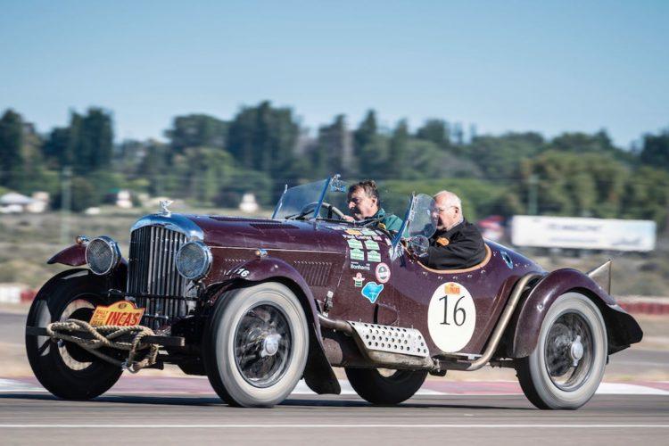 Car 16 Paul Carter(GB) / Vincent Fairclough(GB)1936 - Bentley Derby 4 1/4, Rally of the Incas 2016