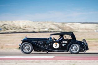 Car 02 Philip Noble(GB) / David Brown(GB)1937 - AC 16/80 Sports, Rally of the Incas 2016, Rally of the Incas 2016. Day 05 Puerto Madryn - Esquel