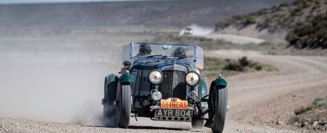 Car 11 Nigel Dowding(GB) / Mary Antcliff(GB)1934 - Aston Martin MkII, Rally of the Incas 2016
