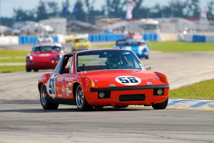 Russell Hibbard- Porsche 914/6 GT.