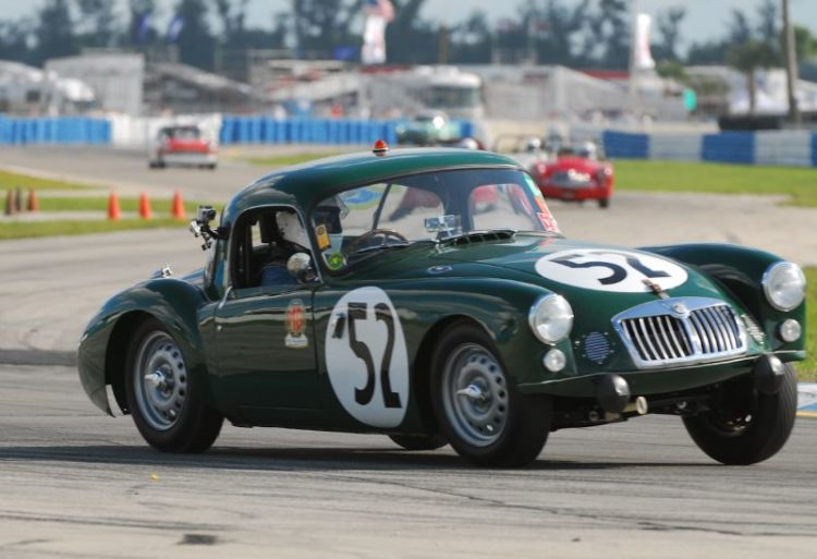 1962 MGA Sebring Coupe- Hugh Burruss.