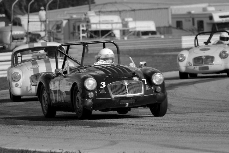 David Holmes 1959 MGA