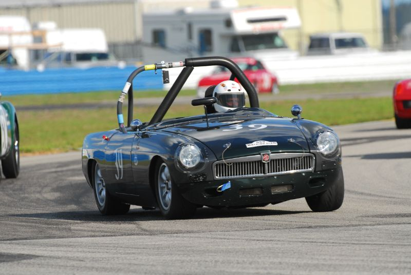 Brian McKie- MGB Roadster.