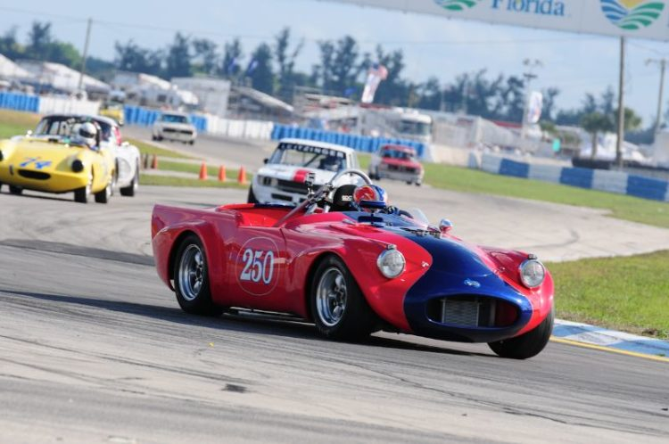 Larry Ligas 1961 Daimler SP250.