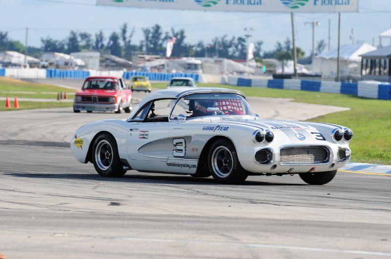 Lance Miller 1959 Corvette.