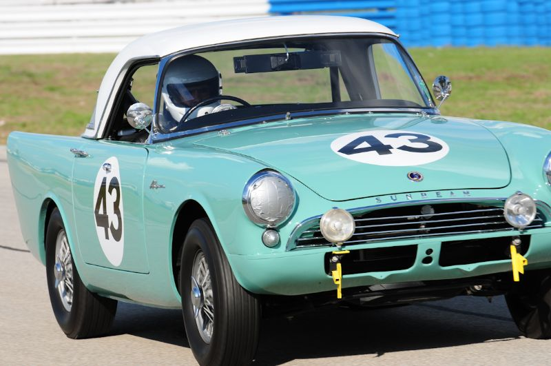 Steve Alcala- 1962 Sunbeam Alpine Series 2.