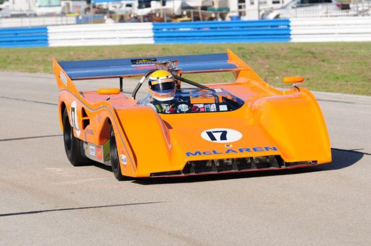 Michael Dunkel 1972 McLaren M8F.