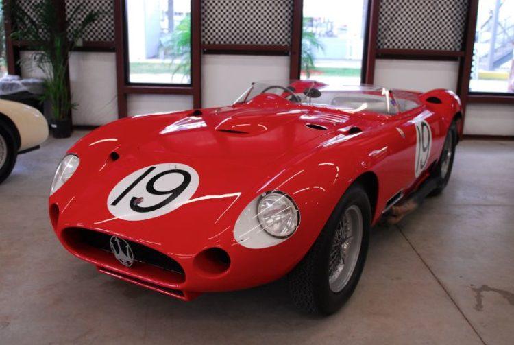 1957 Maserati 450s Sebring Winner, Driven Juan Manuel Fangio and Jean Behra.