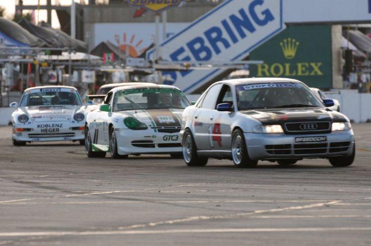 Bill Miller Audi S4, Denise Stubbs/Mike Bruns- 2001 Porsche GT3.