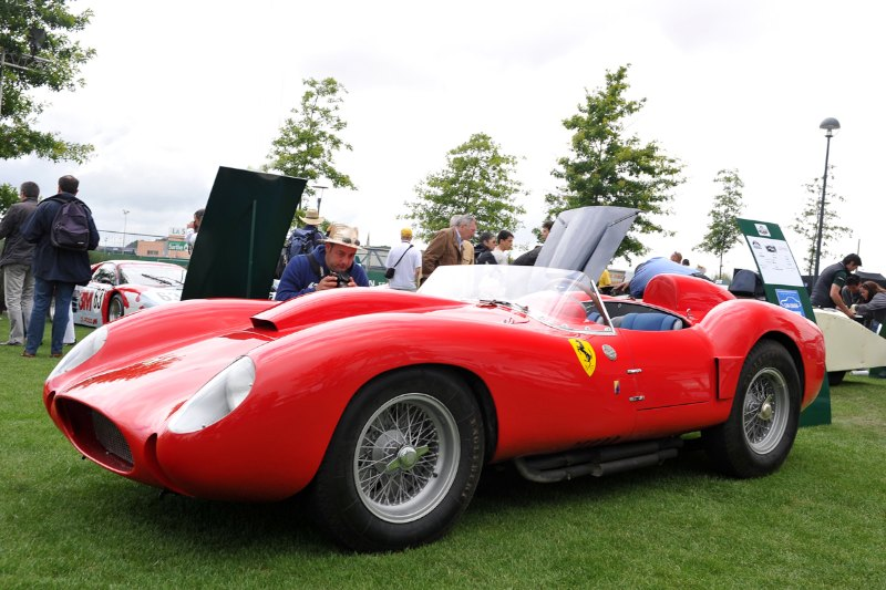 Ferrari 250 TR58 - Le Mans Classic 2012