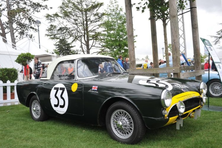 Sunbeam Alpine - Le Mans Classic 2012
