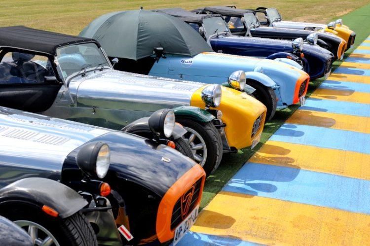 Lotus 7 - Le Mans Classic 2012