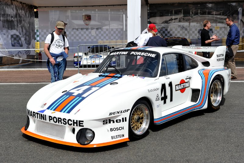 Ex-Jackie Ickx and Jochen Mass Porsche 935 at Le Mans Classic 2012