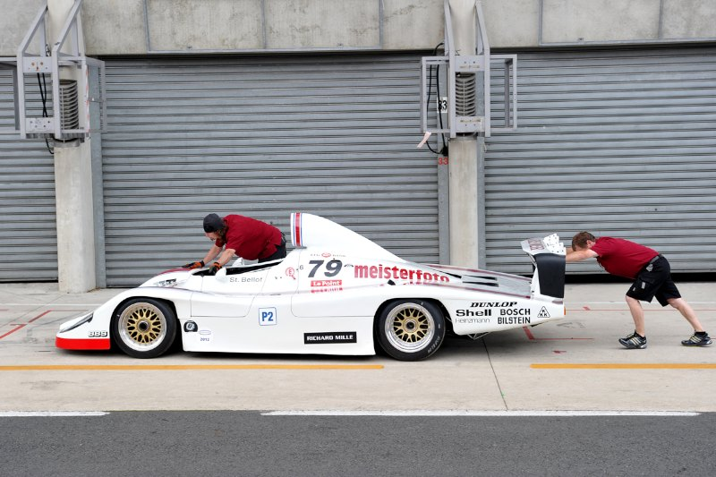 1980 Porsche 936 - Le Mans Classic 2012