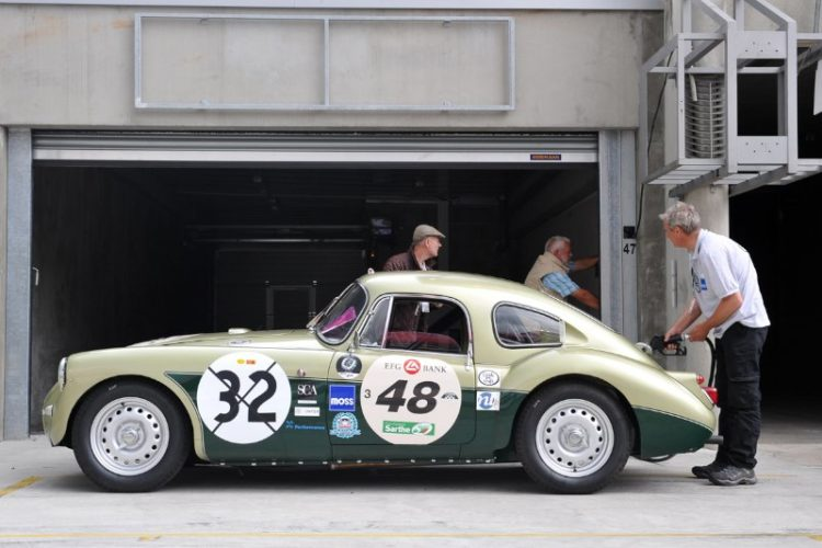 1958 MG A Twin Cam - Le Mans Classic 2012