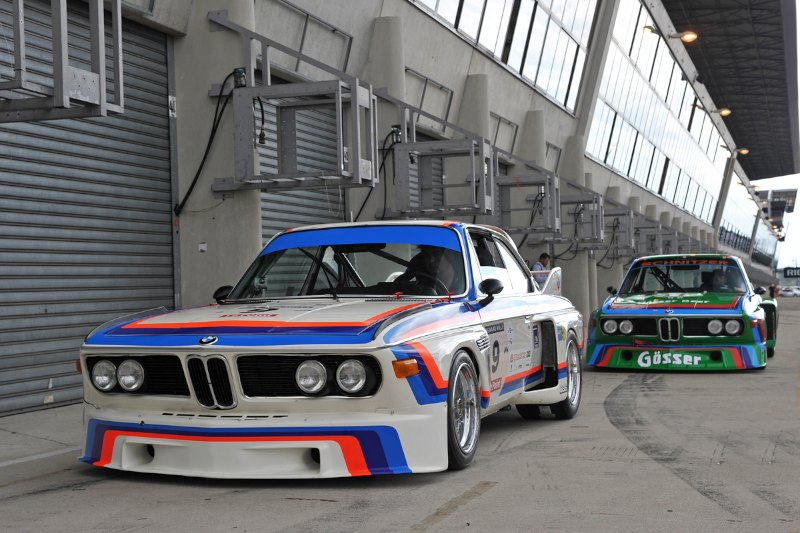 BMW CSL - Le Mans Classic 2012