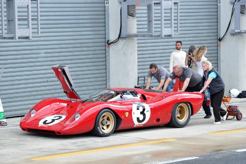 Ferrari 312P - Le Mans Classic 2012