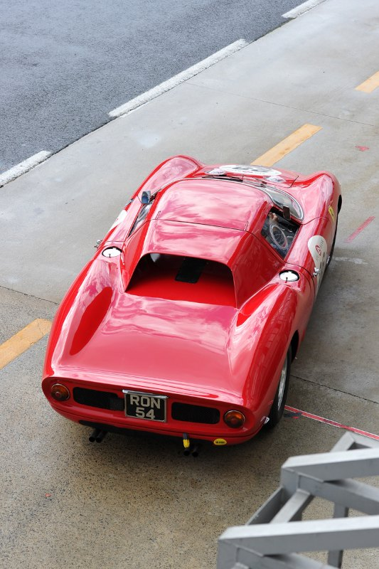 Ferrari 250 LM - Le Mans Classic 2012