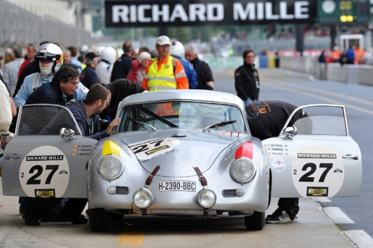 1954 Porsche 356 Pre-A - Le Mans Classic 2012