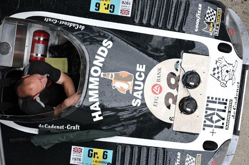 deCadenet Lola T380 - Le Mans Classic 2012