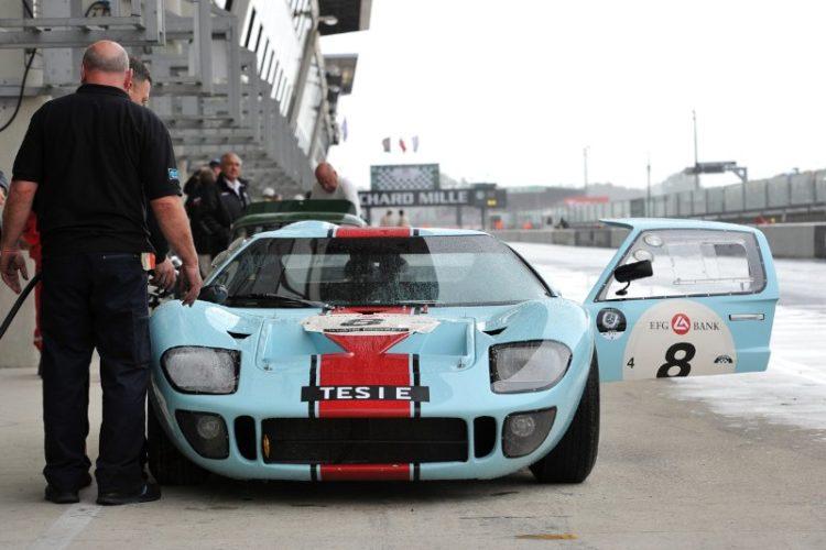 "Ford GT40 ""Tesie"" - Le Mans Classic 2012"
