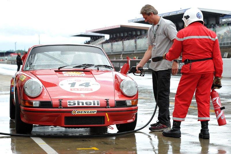 Porsche 911 Carrera RS 2.7 -  Le Mans Classic 2012