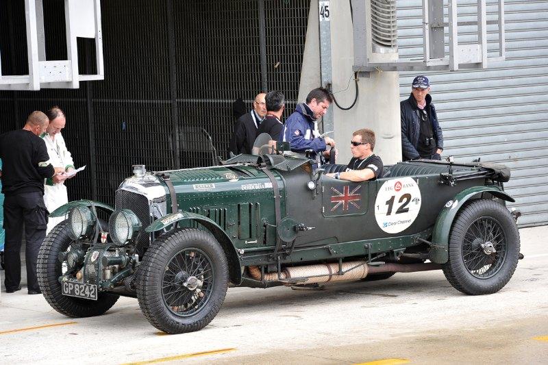 1929 Bentley 4.5-Litre Supercharged - Le Mans Classic 2012