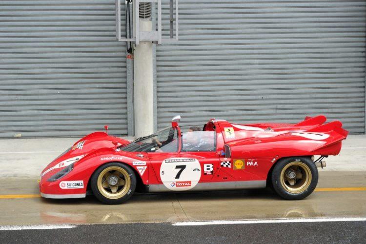 1969 Ferrari 512 S - Le Mans Classic 2012