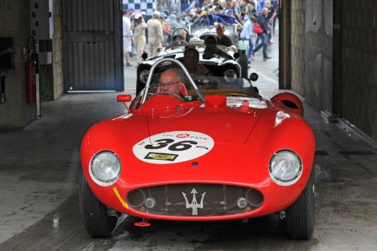 1955 Maserati 300S - Le Mans Classic 2012