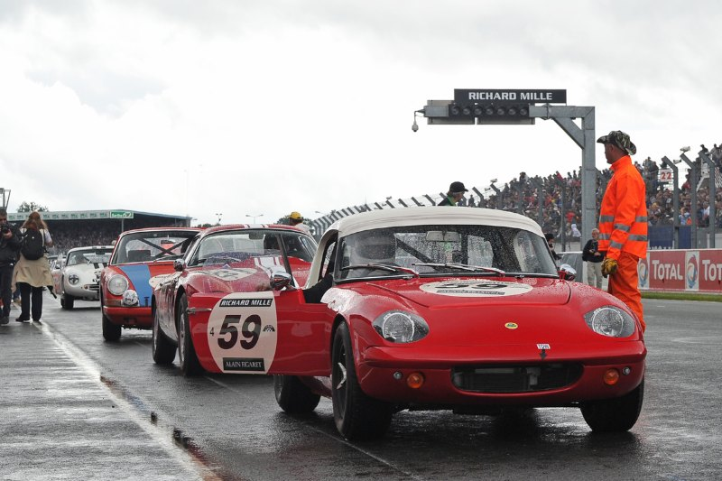 1963 Lotus Elan - Le Mans Classic 2012