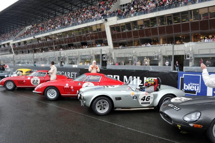 Grid 4 Pre-race - Le Mans Classic 2012