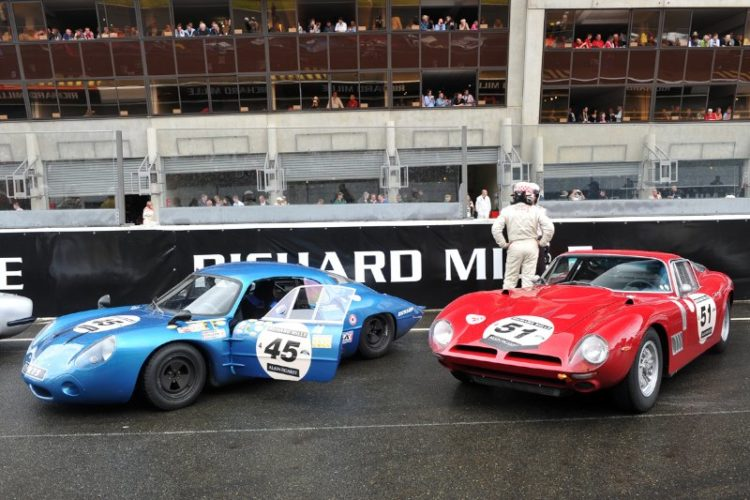 1964 Alpine M 64 and 1965 Iso A3/C - Le Mans Classic 2012