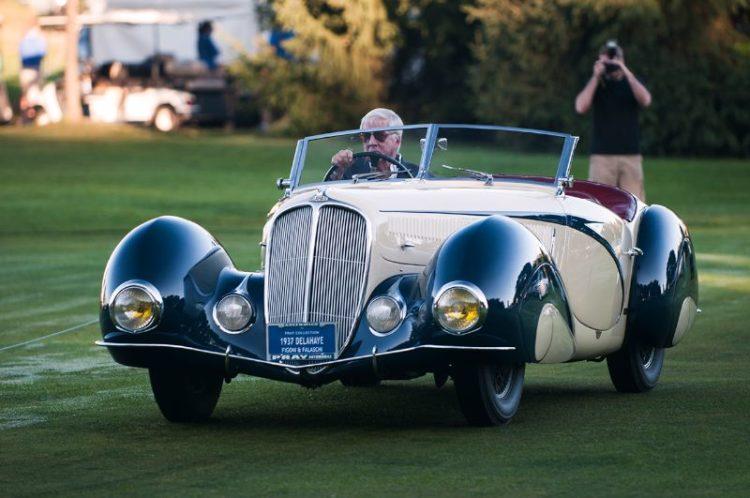 1937 Delahaye 135M Roadster by Figoni et Falaschi