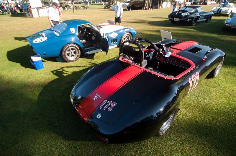 Jaguar V-12 XKE Race Car