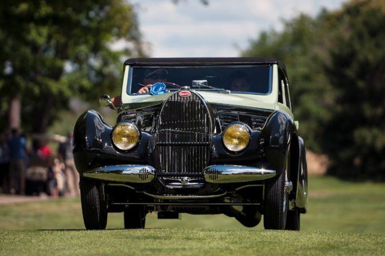 1938 Bugatti 57 C Aravis Drophead Coupe