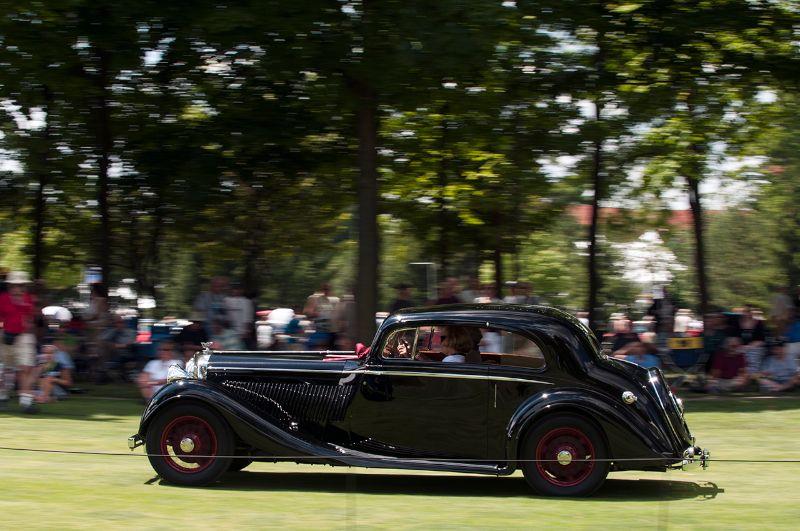 1936 Bentley 4.25-Liter Coupe
