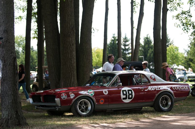 1967 Mercury Cougar Trans-Am Race Car