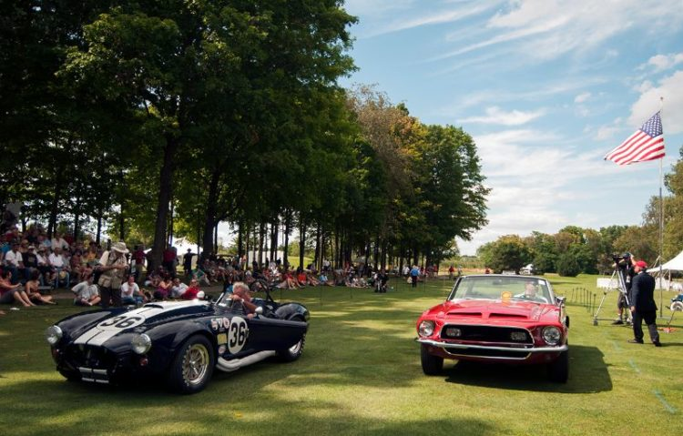 1965 AC Cobra 427 Competition Roadster and 1967 Ford Shelby GT Convertible